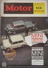 Motor magazine 13 February 1963 featuring Vauxhall Valiant road test