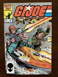 G.I. Joe #47 (Marvel 1986) 1st Print.  NM condition.  Key!