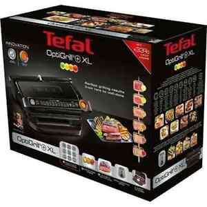 Tefal GC7228 OptiGrill+ XL Kontaktgrill Tischgrill mit Sensor 9 Grillprogramme