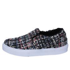 scarpe donna 2 STAR 35 EU slip on multicolore tessuto BX381-35