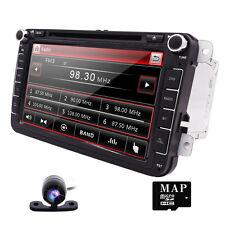 "8"" 2Din Car DVD Player GPS BT SD RDS Radio for VW Volkswagen JETTA PASSAT+camera"