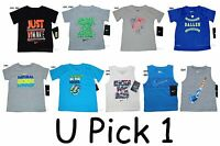 Nike T Shirt Boys Sports Athletic 12 18 24 months Cute Sayings Top Tee Little