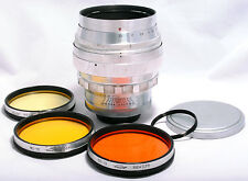 HELIOS-40 85mm f/1.5 M39 L39 LTM M42 SLR lens Zeiss Biotar Case Filters TESTED!