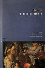 L'arte di amare. Testo latino a fronte - Ovidio - Barbera Editore U20