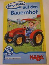 HABA Spiel Ratz Fatz auf den Bauernhof Lern Spiel Spaß - Kinderspiel - Lernspiel