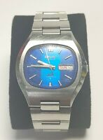 1974 Seiko DX 6106-5549 Automatic Iridescent Blue Dial Staineless *Read Desc Pls