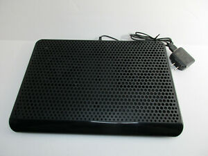 Black Targus Laptop Cooling Pad Chill Mat N2953 Model AWE61 Tested Works