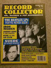 Record Collector no. 206 October 1996 - THE BEATLES / SUEDE / IRON MAIDEN