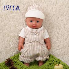 IVITA 12 Inch Full Body Silicone Bebe Reborn Baby Girl Doll Toy Realistic 1200g