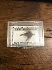 George Grant Bighole River Pattern Black & Orange Colorback Fly