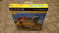 Wonderbook Walking With Dinosaurs (Sony PlayStation 3, 2013) new ps3 Wonder book