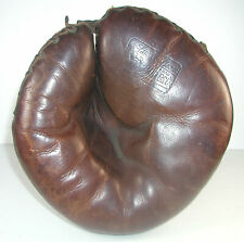 """EARLY VINTAGE STALL AND DEAN """"SPEEDIEST"""" CATCHERS MITT-BUCKLE WEB-BUCKLE BACK"""