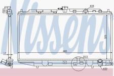 Motor de refrigeración por agua radiador manual Radiador Nissens Nis 62276