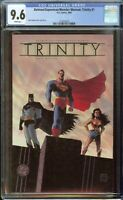 Trinity Comic #1 (2003) CGC 9.6 White Pages Batman Superman Wonder Woman