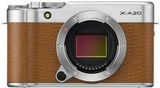 Fujifilm X-A20 Brown & Silver Body Only (NO LENS) CSC Mirrorless Fuji Camera