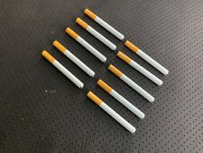 """10x Metal One Hitter Pipe Cigarette Style Dugout Bat Large 3"""" Sniffer"""