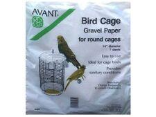 "Avant Bird Cage Round Gravel Paper 14"" Diameter - 7 sheets"