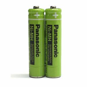 2X Panasonic Original BK-40AAABU Rechargeable Phone Batteries 400mAh replacement