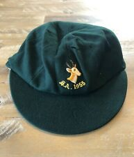Player Issued - South African MATCH WORN National Team Baggy Test Cap - c1955