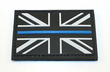 Thin Blue Line Morale Patch, Police, Law Enforcement, Union Jack, Badge,Security