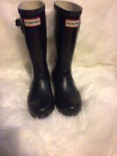 Hunter Blue Rain Boots Size 4M