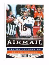 New listing Peyton Manning 2013 Panini Score, Airmail, Football Card
