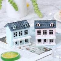 1:12 Dollhouse Miniature Wooden Little House Model Lovely Villa Doll House LE