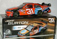 2008 Jeff Burton #31 AT&T AUTOGRAPHED 1/24 car#873/8396 AWESOME LOOKING CAR WOW