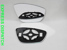 Right Wing Mirror Glass For PEUGEOT 208 2012-2018 Convex + back plate  #TV010