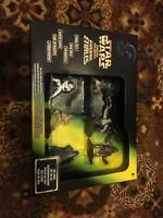 Vtg 1996 Kenner Star Wars La Guerra De Las Galaxias Spanish Diecast Six Pack