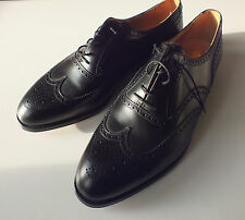Crockett & Jones 12 G UK, US 12.5 black brogue Oxford NEW shoes bags trees Cant.