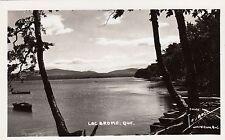 Carte Photo LAC BROME Montérégie Quebec Canada 1940-50 Photo Légaré RPPC