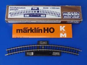 MARKLIN Z - 8539 - Curved Control Track - mini-club / BOX - LN