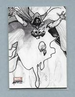 2018 Marvel Masterpieces Preliminary Art PA65 Cloak Card