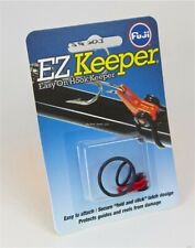 Fuji Fishing Casting Lure E-Z Hook Keeper Red Carded w/2 O Rings Ehkm-Rc