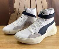 Puma Sky Modern - Kyle Kuzma - White Navy Blue - Men's Basketball Shoe 194042-01