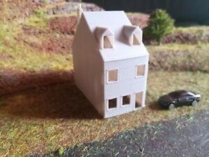 Maison en brique - échelle N