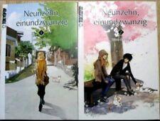 Neunzehn einundzwanzig 1-2 komplett manga Sammlung big size manga in Farbe