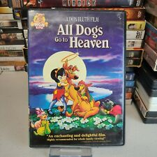 All Dogs Go to Heaven 60% OFF 4+ DVD $2 Each