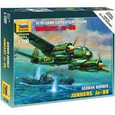 Zvezda 6186 Ju-88 (Junkers) /german medium speed bomber/ 1/200
