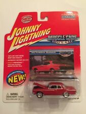 Johnny Lightning Muscle Cars 1962 Plymouth Belvedere 1:64,DieCast, MISP (B7)