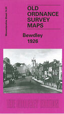 OLD ORDNANCE SURVEY MAP BEWDLEY 1926