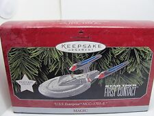 1998, U.S.S. ENTERPRISE NCC-1701-E, MAGIC HALLMARK ORNAMENT