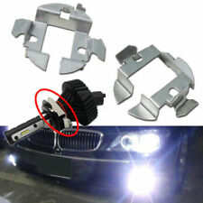 2x H7 LED Head Lights Holders Clip Adapters Fr Mercedes GL450 ML350 MK6 VW JETTA