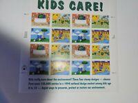 SCOTT #2951-54  KIDS  CARE   32 CENT  SOUVENIR SHEET   MNH