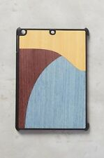Anthropologie Wood'd Color Block Wood iPad Mini Case Made in Italy