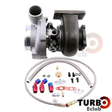 GT30 GT3037 GT3076 Turbo Turbocharger 0.82 + Oil Drain Return Oil FEED Line Kits