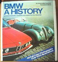BMW A History, by Halwart Schrader - HB/DJ