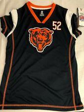 NFL Chicago Bears Girls' Athletic Jersey - Khalil Mack 52 - Blue - NWT - C349