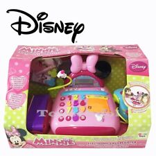 New Disney Minnie Mouse Electronic Cash Register Play Set Pretend Toy 3+